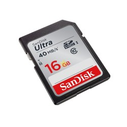 SanDisk 16 GB SDHC 40Mbps Class 10 Memory Card
