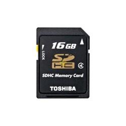 Toshiba 16 GB SDHC Class 4 Memory Card