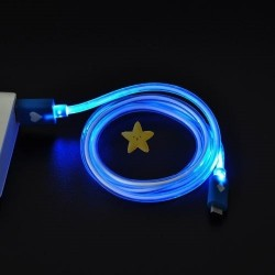 LED Lit Data Cable (Blue)