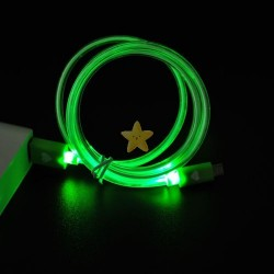 LED lit data cable (colors)